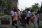 省委组织部常务副部长于跃敏考察基因小镇(紫金创业园)